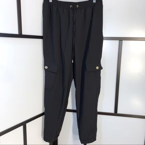 🆕MK Cargo Pant Joggers w Gold Aceents